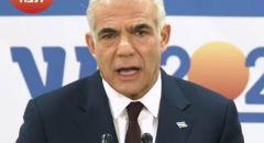 لابيد يبلغ رئيس الدولة بنجاحه في تشكيل الحكومة الجديدة