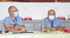 زيارة مدير عام وزارة الصحة إلى مستشفى الكرمل