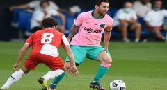 ميسي يبدع أمام جيرونا بعد إنهاء أزمته مع برشلونة