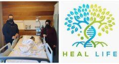 جمعية هيل لايف العالمية لمساعدة اطفال مرضى السرطان ،السكري والأمراض المستعصية تجمع التبرعات وتنجح بانقاذ حياة الطفلة رفيف من بيت لحم