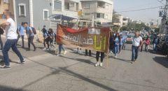 دير حنا: انطلاق مسيرة احتجاجية على عملية القتل