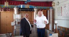 القائمة الموحدة فرع اللد تستنكر لقاء النائب منصور عباس مع رئيس بلدية اللد يائير رفيفو