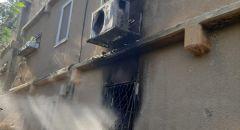 بيت شيمش: اندلاع حريق داخل شقة سكنية واصابة شخصين