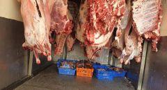 ضبط 300 كغم من اللحوم غير الصالحة للإستهلاك في منطقة الشمال