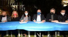 التوقيع على اتفاقية تاريخية في ميناء أشدود