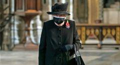 الملكة إليزابيث الثانية تظهر لأول مرة بالقناع من كورونا