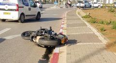 العفولة: اصابة خطيرة في حادث بين دراجة نارية وسيارة خصوصية