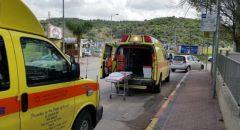 حادث طرق قرب المشهد يسفر عن إصابة 8 أشخاص