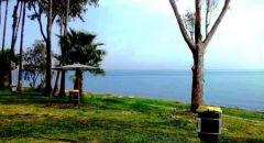 طبريا: بسبب الاقبال الكبير اغلاق جميع شواطئ طبريا