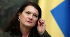 """وزيرة الخارجية السويدية تزور إسرائيل بعد قطيعة دامت سنوات """"بسبب فلسطين"""""""