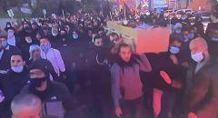 ام الفحم: جماهير غفيرة تشارك في تشييع جثمان الشاب محمد ناصر حمد ضحية جريمة القتل
