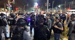 الشرطة الإسرائيلية ومتطرفون يعتدون على أهالي يافا