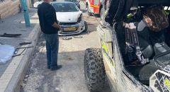 كفركنا: اصابة طفل وشاب بجراح احدهما خطيرة جراء حادث طرق