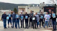 المشتركة: دعم مُلفت لتوزيع نشرات الانتخابية في بلدات الجليل