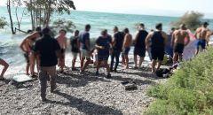 انتشال شاب تعرض للغرق في بحيرة طبريا في شاطئ غير مرخص