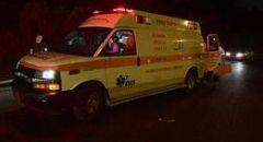 ايلات : عمليات انعاش بحادث طرق مروع