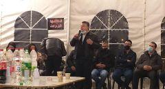 خيمة الاعتصام في وادي عارة تختتم نشاطها النضالي ضد العنف والجريمة