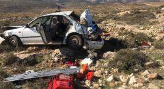 مصرع شاب بانقلاب سيارة خلال مطاردة قرب القدس