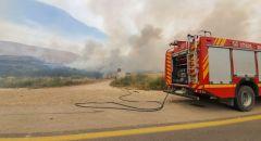 سلطة الإطفاء والإنقاذ تناشد المواطنين بعدم اشعال النيران في هذه الايام الحارّة