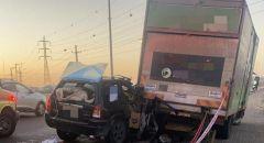 إصابات في حادث طرق على مفرق معليا