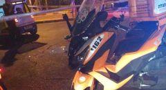 اطلاق نار في كريات يام واصابة شخص بجراح بالغة الخطورة والشرطة تعتقل مشتبهََا