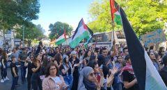 الناصرة : مظاهرة كبرى تضامناً مع القدس والاقصى وغزة