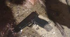 ضبط اسلحة في اللد واعتقال مشتبهين