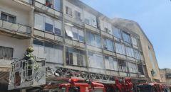 حيفا: اندلاع حريق داخل مبنى وتخليص 6 عالقين من بينهم أطفال