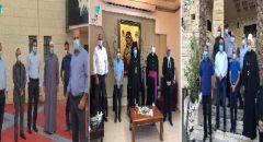 جامزو وسيف يعقدان سلسلة لقاءات مع رجال دين من مختلف الطوائف لمكافحة الكورونا