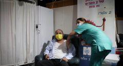 النائب أحمد الطيبي يتلقى تطعيم الكورونا