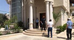 تفكيك جسم مشبوه بجانب بيت رئيس بلدية سخنين د. صفوت ابو ريا