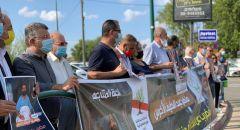 مؤتمر صحافي وتظاهرة في اليوم الـ100 لإضراب الأسير ماهر الأخرس عن الطعام