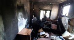 الرملة: طواقم الاطفاء تعمل على اخماد حريق في شقة سكنية