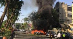 قتلى وجرحى بانفجار داخل كنيسة في إندونيسيا