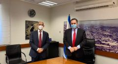 جلسة عمل أولى بين وزير المالية ومحافظ بنك إسرائيل