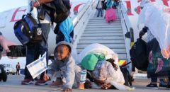 وصول 330 أثيوبيًا الى إسرائيل صباح اليوم