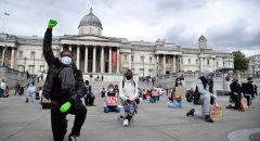 وزير الصحة البريطاني يناشد مواطنيه عدم الاشتراك في المظاهرات بسبب كورونا