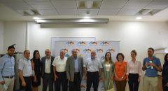 الطيبي، السعدي وسندس صالح في جلسة عمل هامة مع إدارة جامعة حيفا