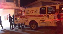 اصابة طفل بجراح خطيرة اثر سقوطه عن علو في بير هداج