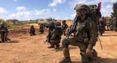 تواصل النشاطات الدفاعية لإحباط التهديدات على الحدود مع قطاع غزة وتدريبات للواء