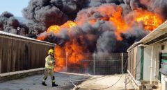 اندلاع حريق هائل في مستوطنة قرب المغار