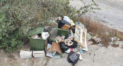 مصعب دخان يطالب بلدية الناصرة بازالة النفايات المتراكمة