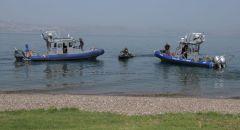 شرطة إسرائيل على أهبة الإستعداد لإفتتاح موسم السباحة في بحيرة طبريا