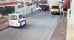 توثيق بالفيديو اطلاق النار على دورية الشرطة في الطيرة واعتقال المشتبه