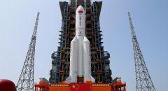 بقايا الصاروخ الصيني تسقط في المحيط الهندي