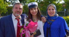 الطالبة الدنماركية من أصول فلسطينية ياسمين اليوسف تحصل على أعلى معدل في التوجيهي على مستوى الدنمارك