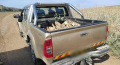 توقيف مشتبهين من قرية الشبلي بسرقة قطع اشجار من احد الاحراش