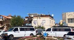 الشرطة تقتحم بلدة اكسال بحثا عن الأسرى الهاربين من سجن الجلبوع