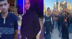 جماهير غفيرة بتشييع جثماني محمد خطيب وليث نصرة ضحيتا جريمة القتل في قلنسوة