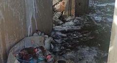 رهط : انهيار سقف منـزل اندلعت به النيران